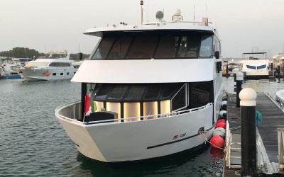 Luxury Yacht Dinner Cruise Abu Dhabi